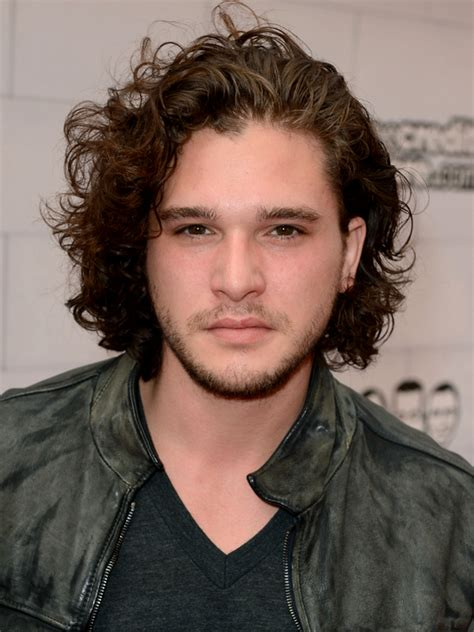 pictures shag hairstyles for men kit harington curly