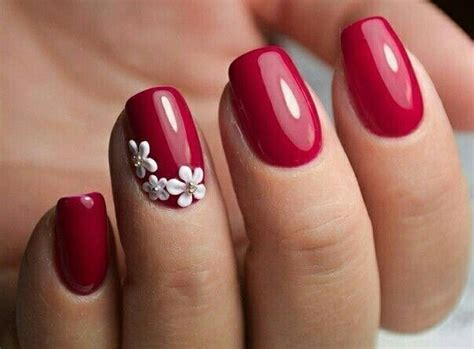 8 Splendid Red Nail Designs Ideas