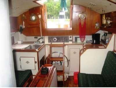 nimble  yawl  grand rivers kentucky sailboat