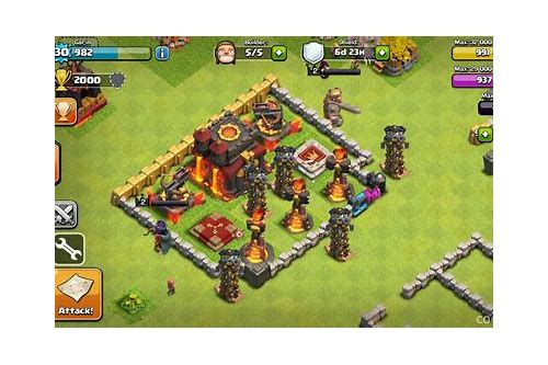 hacked clash of clans server download