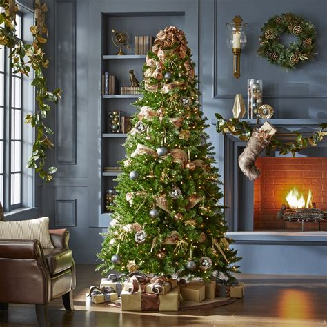 jaclyn smith golden radiance complete tree decorating kit