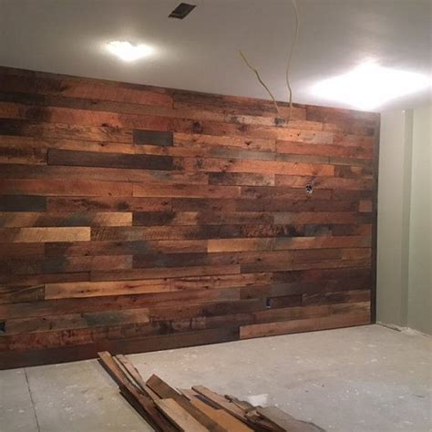 rough wood accent wall rustic wood walls faux wood wall