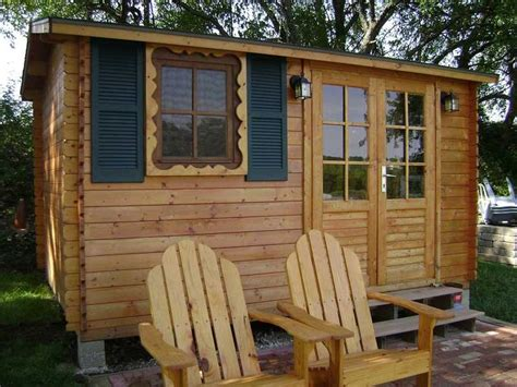Solid Build Designs And Sells Outdoor Wood Kit Sheds And