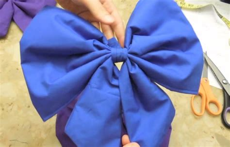 big bow pictures how to sew anime style bows