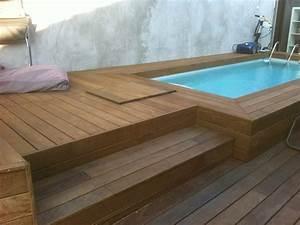 Tour De Piscine Bois : tour de piscine en bois exotique ipe marseille parquet ~ Premium-room.com Idées de Décoration