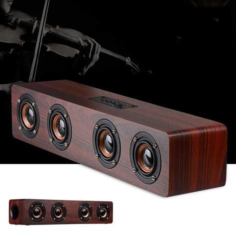 bluetooth lautsprecher holz holz bluetooth lautsprecher hifi stereo sound