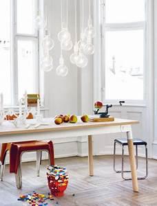Lampe Pour Cuisine : lampe e27 muuto au dessus table cuisine ~ Teatrodelosmanantiales.com Idées de Décoration