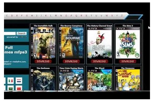 download free full version ps3 games mfps3-games.net