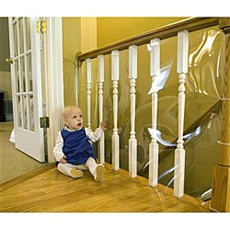 banister safety gate cardinal gates banister shield 15 roll clear