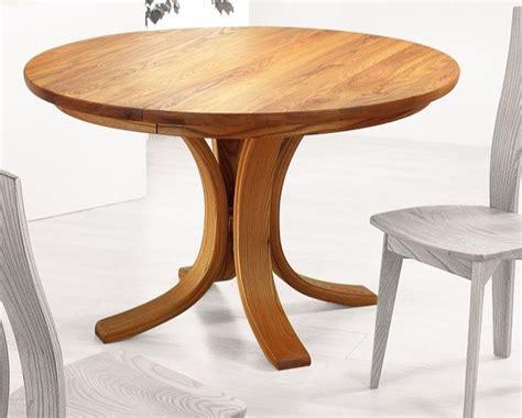 table de cuisine ronde pas cher talo taglan création harmonies en bois massif