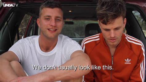 Straight Dutch Guys Go Gay For Awareness Youtube