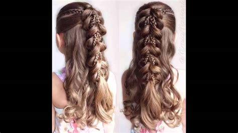 haar styling fur kinder lange haare youtube