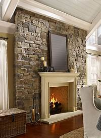 great country fireplace mantel style Country Style Mantels and Fireplaces - Town & Country Living