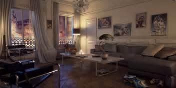 white modern living room gray black sofa chair pillow olpos design