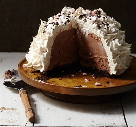Frozen Espresso Peppermint Bombe   Traditional Home
