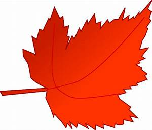 Maple Red Leaf Clip Art at Clker.com - vector clip art ...