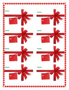 christmas gift template free microsoft word templates free microsoft word templates