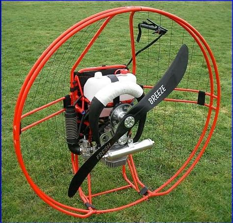 fresh breeze solo paramotor  powered paragliding flying