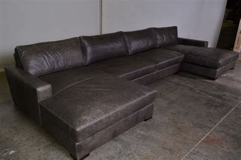 double chaise sectional sofa monroe double chaise sectional contemporary sectional