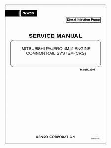 4m41 Engine Common Rail System
