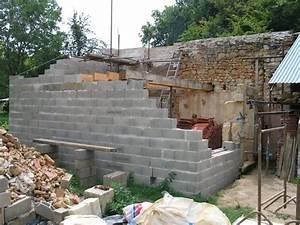 Monter Mur En Parpaing : monter un mur en chaux restaurer sa ~ Premium-room.com Idées de Décoration