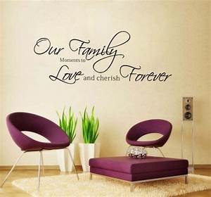 family word art fashion our family moments love forever With wall word art