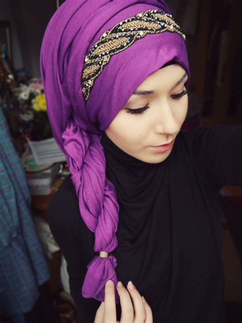 latest perfect  hijab styles   faces
