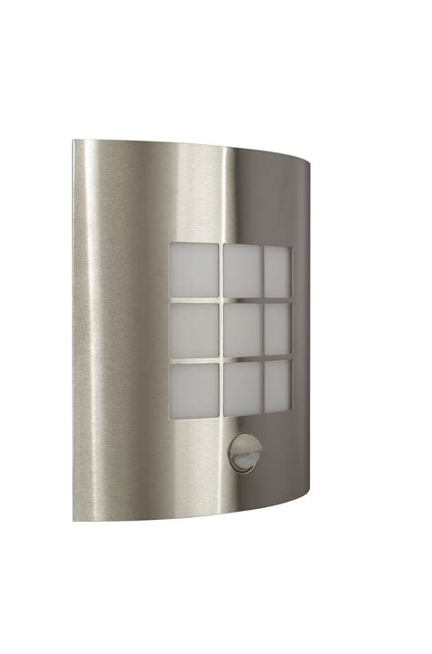 stainless steel 60w ip44 modern outdoor wall light with
