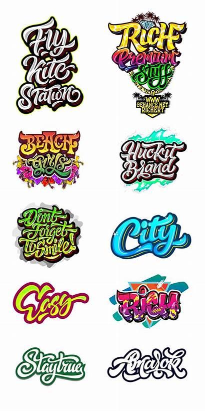 Behance Logos Graffiti Prints Lettering Typography Cool