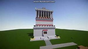 Mausoleum at Halicarnassus minecraft - YouTube