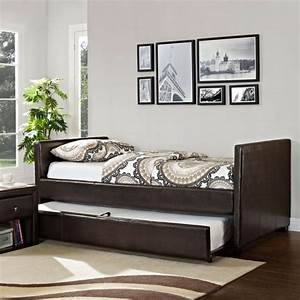 cheap daybed with trundle bed headboards With daybed with trundle for small spaces