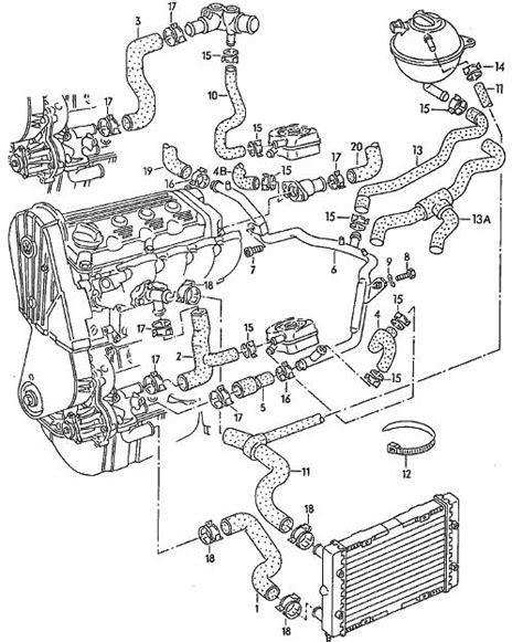 Golf Engine Diagram Automotive Parts Images