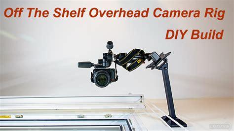 lensvid exclusive   shelf overhead camera rig diy