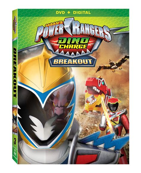 Henshin Grid Power Rangers Dino Charge Breakout Dvd Review