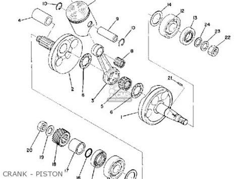 yamaha lt3 1972 1973 parts list partsmanual partsfiche