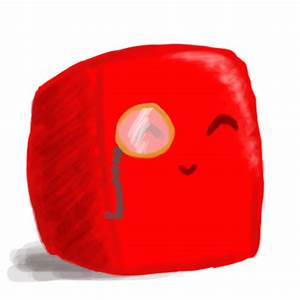 Lasty - The Happy Red Slime by SymPirate on DeviantArt