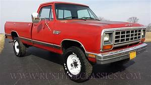 1984 Dodge W350 1 Ton 4x4 85 Power Ram Red