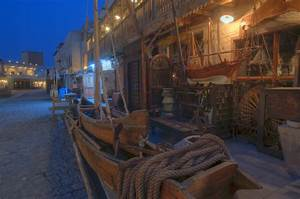 Photo 933-09: Antique shops in Souq Waqif (Old Market) at ...