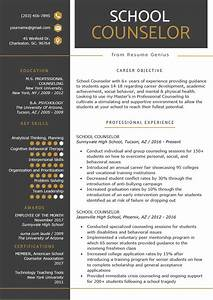 Camp Counselor Cover Letter School Counselor Resume Sample Tips Resume Genius