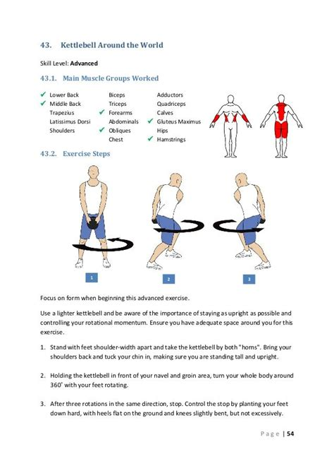 kettlebell around worked muscle groups exercises workout lower advanced middle main dumbbell skill level kettle workouts dorsi latissimus bell kettlebells