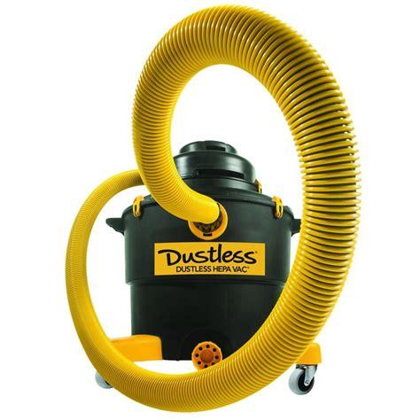 vacuum rental home depot dustless technologies dustlessvac 16 gal hepa Hepa