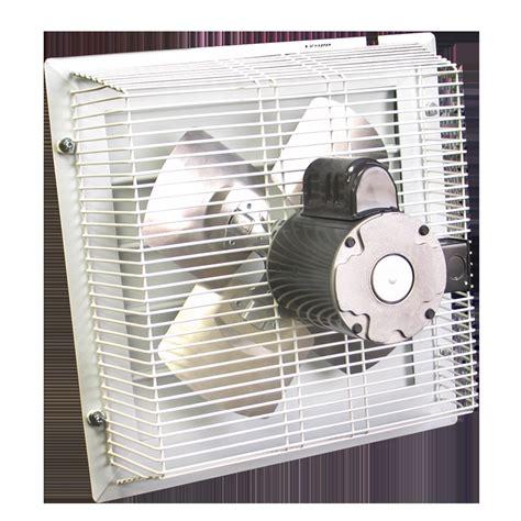 garage wall exhaust fan gft 18 through wall garage fan cool my garage