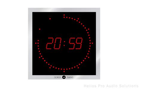 gorgy timing ledi 5 60 clocks and timers helios