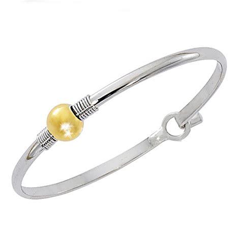 Cape Cod Gold Ball Cuff Bracelet