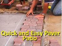 how to lay brick patio How to Lay Patio Pavers - YouTube