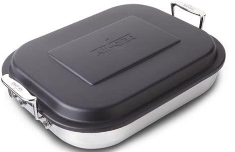 all clad roasting pan lid green lentil vegetable lasagne for two not so average