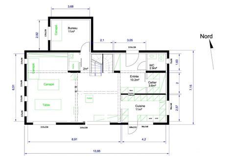 plan chambre 12m2 plan d 39 une maison 155 m sur r 1 pour avis 106 messages