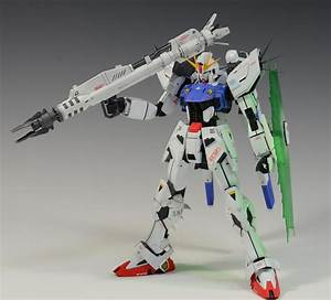 1  100 Gundam F91 Remodeled  Painted Build  Full