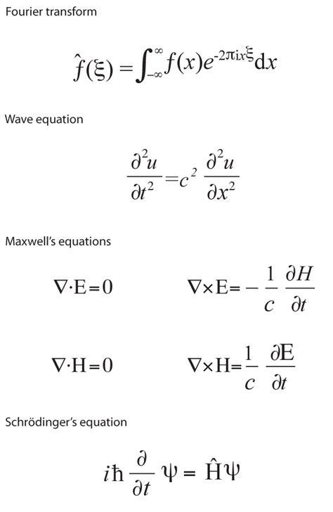 equations  rule  world physicsme