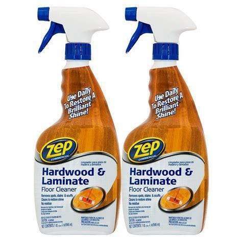 zep  oz hardwood  laminate floor cleaner  pack